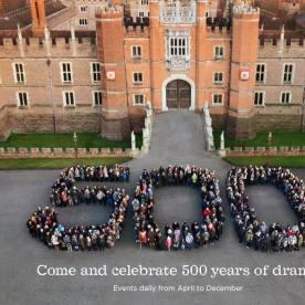 500 Years of Hampton Court Palace celebrations