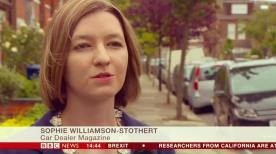 Caught on the BBC News 24 Hours