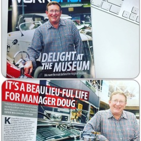 Delight at the Museum feature in Workshop Magazine