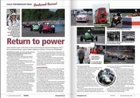 Goodwood Revival report in GoMW Update 2015