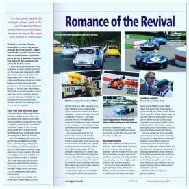Goodwood Revival report in the GoMW Update 2017