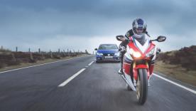 Honda Civic Type R vs. Honda Fireblade Cover Shoot - Credit Jonathan Fleetwood