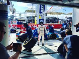 In the Garage with Sir Chris Hoy and Nissan at the Le Mans 24 Hours 2016