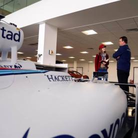 Interviews at Williams Advanced Engineering - Credit Jonathan Fleetwood