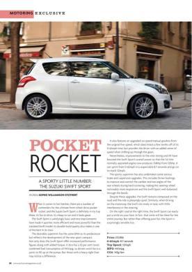 Pocket Rocket - Exclusive Magazines