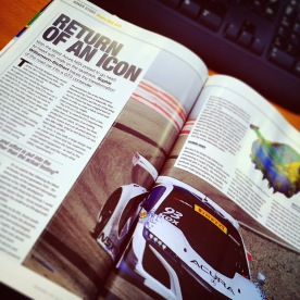 Return of an Icon feature in Race Tech Magazine