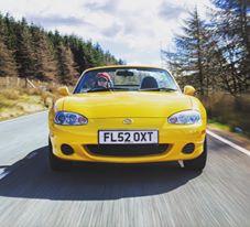 Road testing the Mazda MX-5 Mk2 - Credit Jonathan Fleetwood