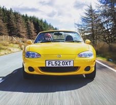 Road testing the Mazda MX-5 Mk2 - Credit Jonathan Fleetwood