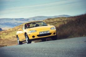 Road testing the MX-5 Mk2 - Credit Jonathan Fleetwood