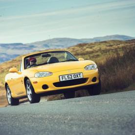 Road testing the MX-5 Mk2 - Credit Jonathan Fleetwood