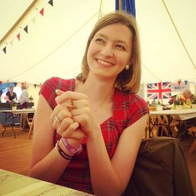 Sophie at the Goodwood Revival 2016