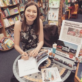 Sophie's first book signing 2016